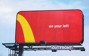Mc Donalds Billboard Ad sarasota marketing agency graphic