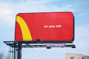 Mc Donalds Billboard Ad sarasota marketing agency graphic