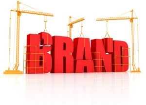 Brand design, growth hacking marketing image